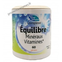 Complexe Équilibre Minéraux gélules végétales - Phytofrance Euro Santé Diffusion