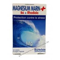 MAGNÉSIUM MARIN + B6 + RHODIOLA contre le stress Biotechnie