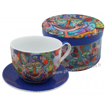 Coffret tasse déjeuner IT'S YOUR PARTY ALLEN DESIGNS