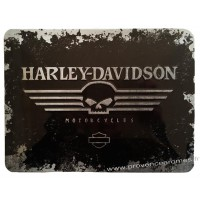 Plaque métal Harley Davidson Motorcycles 20 x15 cm déco rétro vintage