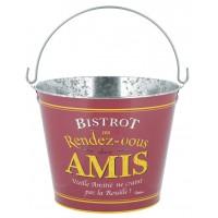 Seau à glace BISTROT DES AMIS Natives déco rétro vintage