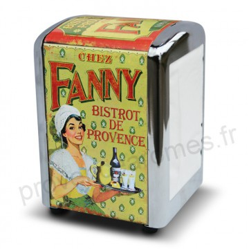 "distributeur de serviettes "" Fanny "" Natives déco rétro vintage"