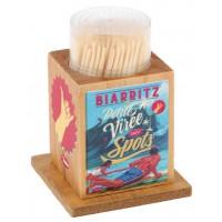 Boîte à Cure dents PETITE VIRÉE ENTRE SPOTS Natives déco rétro vintage