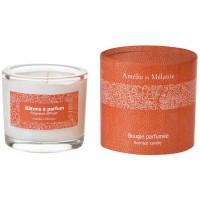 Bougie parfumée CUIR hespéridé fruité Amélie et Mélanie Lothantique