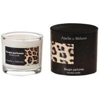 Bougie parfumée LÉOPARD oriental Amélie et Mélanie Lothantique