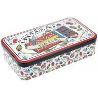 Boite métal pour tablettes de chocolat FOR EVER Natives déco rétro vintage