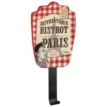 Accroche-torchons BISTROT DE PARIS Natives déco rétro vintage