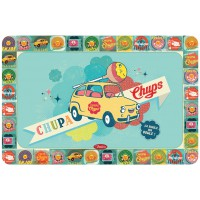 Set de Table CHUPA CHUPS Voiture Natives déco rétro vintage