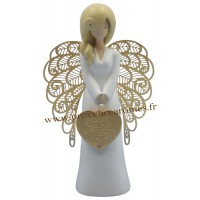 Figurine You are an angel LE BONHEUR SE CULTIVE