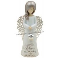 Figurine You are an angel LES PORTES DU BONHEUR SONT TOUJOURS OUVERTES... PM.