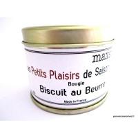 Bougie trés parfumée Biscuit au beurre à la cire de soja naturelle