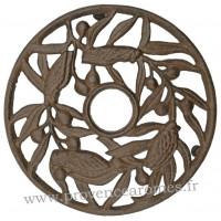 Dessous de plat 4 CIGALES en fonte