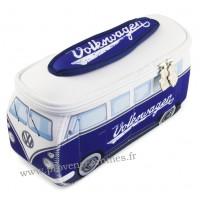 Trousse de toilette vw combi Volkswagen bleu blanc PM Brisa rétro vintage collection