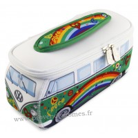 Trousse de toilette vw combi Volkswagen peace and love PM Brisa rétro vintage collection