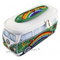 Trousse de toilette vw combi Volkswagen peace and love PM Brisa rétro vintage collection