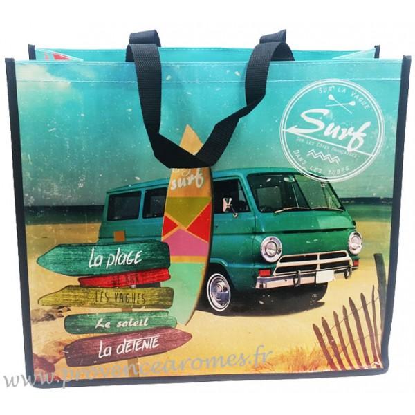sac cabas surf sur la vague d co r tro vintage provence ar mes tendance sud. Black Bedroom Furniture Sets. Home Design Ideas