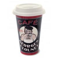 """Mug de voyage US isotherme """" Café chez Georges Clounet """" Natives"""