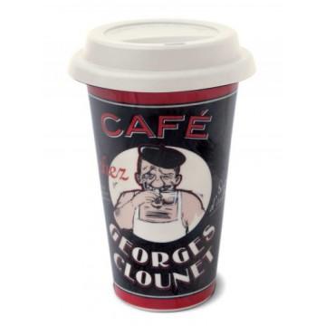Mug US Café chez GEORGES CLOUNET Natives Déco
