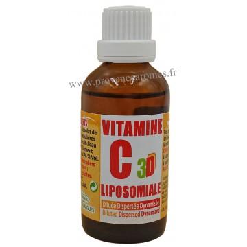 VITAMINE C LIPOSOMIALE 3D naturellement plus puissant Phytofrance 50 ml