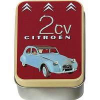 Boîte à savon 2 CV Deux Chevaux Citroën déco publicité rétro vintage