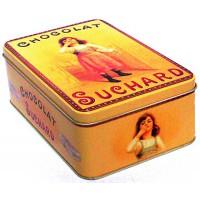 Boîte CHOCOLAT SUCHARD Petite Fille déco publicité rétro vintage