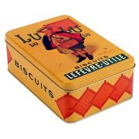 Boîte Biscuits LU déco publicité rétro vintage