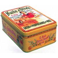 Boîte HUILE D'OLIVE SUPÉRIEURE déco publicité rétro vintage