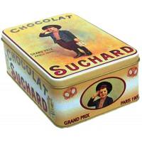 Boîte CHOCOLAT SUCHARD Garçon déco publicité rétro vintage