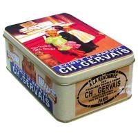 Boîte GERVAIS déco publicité rétro vintage