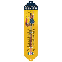 Thermomètre métal Chocolat Menier déco publicité rétro vintage