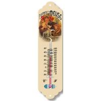 Thermomètre métal Bières de la Meuse déco publicité rétro vintage