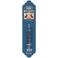 Thermomètre métal RICQLES déco publicité rétro vintage