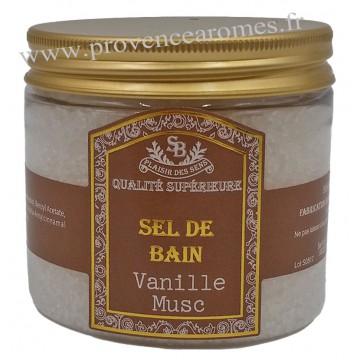 Sel de bain Vanille Musc Un été en Provence - 200ml