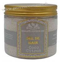 Sel de bain Coco Citron Un été en Provence - 200ml