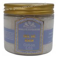 Sel de bain Coton Lin Un été en Provence - 200ml