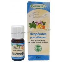 HESPÉRIDES Huiles Essentielles BIO complexe Phytofrance pour diffuseur