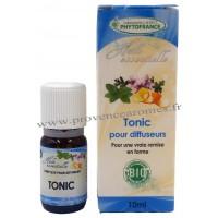 TONIC Huiles Essentielles BIO complexe Phytofrance pour diffuseur