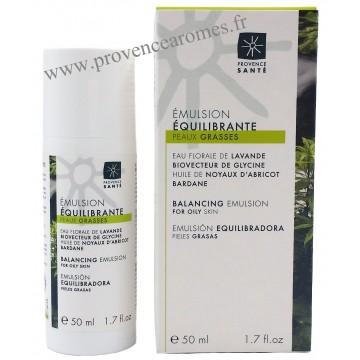 Émulsion équilibrante peaux grasses Provence Santé