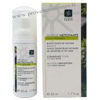 Mousse nettoyante peaux grasses Provence Santé