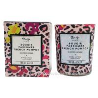 Bougie parfumée Rose Litchi Baïja French Pompon collection