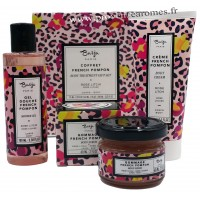 Coffret soin complet Rose Litchi Baïja French Pompon collection