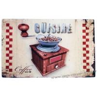 Planche à découper CUISINE MOULIN à CAFÉ déco rétro vintage