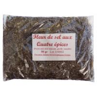 Fleur de Sel au quatre épices - 50 g