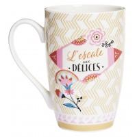Mug L'ESCALE AUX DÉLICES Natives déco rétro vintage