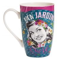 Mug MON JARDIN SUCRÉ Natives déco rétro vintage