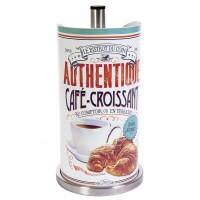 Dévidoir essuie-tout métal CAFÉ-CROISSANT Natives déco rétro vintage
