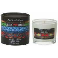 Bougie parfumée AFRIQUE Vanille Rose Amélie et Mélanie Lothantique