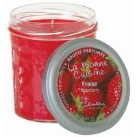 Bougie Parfumée FRAISE Lothantique La Bonne Cuisine