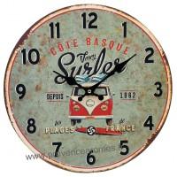 Horloge VAN Venez Surfer déco rétro vintage