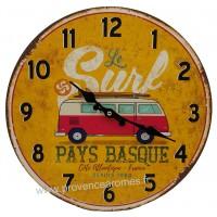 Horloge VAN Le Surf déco rétro vintage